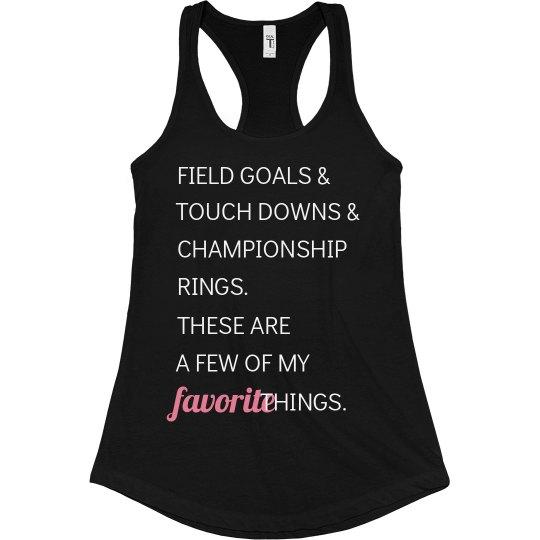 Favorite Things - Football Tank