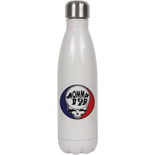 FB Water Bottle white