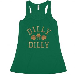Metallic Dilly Dilly St Patrick's