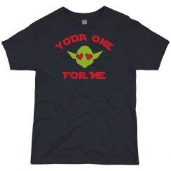 Boys Valentine's Day Funny Yoda