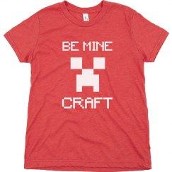 Be Mine Craft Funny Boys Valentine