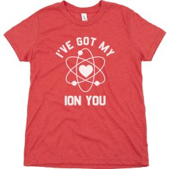 Boys Science Valentine Pun Funny