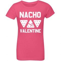 Girls Nacho Valentine Funny Kids