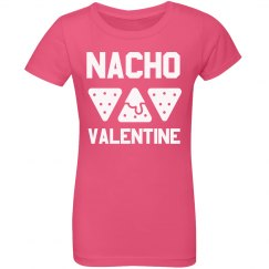 Girls Nacho Valentine Funny Kids