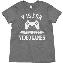 Cute Video Game Kid Valentine's Day