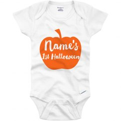 Name's First Halloween Customizable