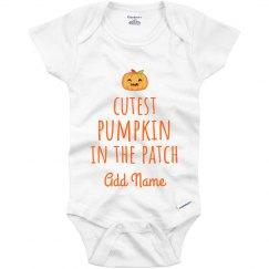 Cutest Pumpkin In The Patch Custom