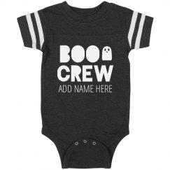 Custom Boo Crew Halloween Baby