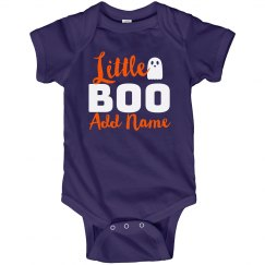 Little Boo Custom Halloween Baby
