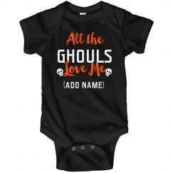All The Ghouls Custom Halloween Boy