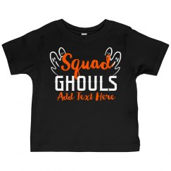 Kids Halloween Squad Ghouls