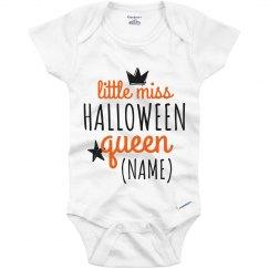 Custom Little Miss Halloween Queen
