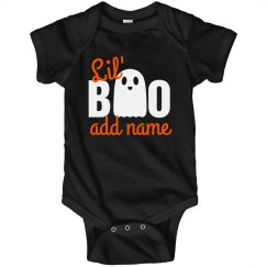 Little Halloween Boo Custom Name