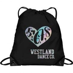 WESTLAND DANCE BAG GLITTER