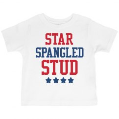Star Spangled Stud Toddler Tee