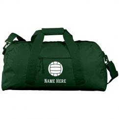 Custom Name Volleyball Bag