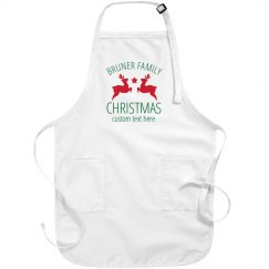 Customizable Family Christmas Aprons