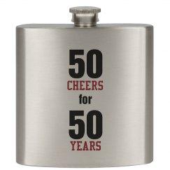 50 yr flask