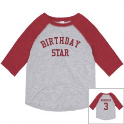 Birthday Star