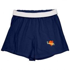 Slim Fit Cheer Shorts