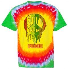 rainbow peace t shirt