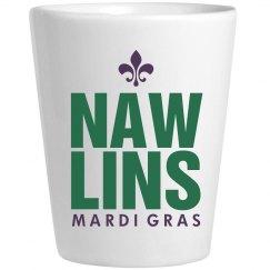 Nawlins Mardi Gras Shot