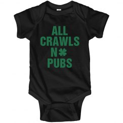 Baby's St. Patrick's Day Crawl
