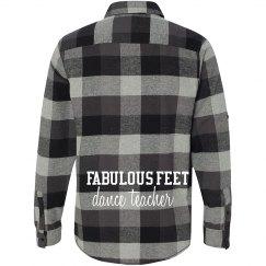 Fabulous Feet Flannel