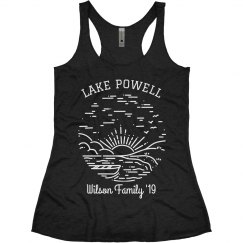Family Lake Trip Custom Cute & Trendy Vacation Tanks