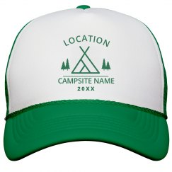 Custom Camping And Exploring Hat