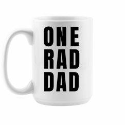 One Rad Dad Coffee Mug