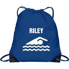 Riley's swim bag