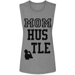 Mom Hustle Muscle tank t