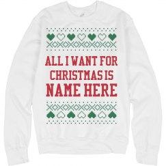 Custom Christmas Present