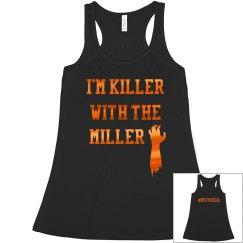 Women's Halloween Tank- Miller