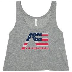 AlterEgo 'American Flag' Logo