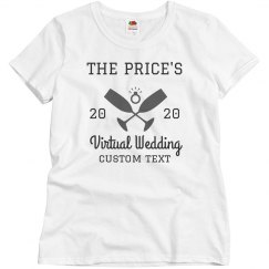 Customizable Virtual Wedding Tees