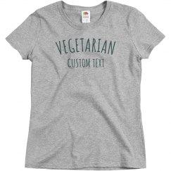 Custom Simple Vegetarian Design