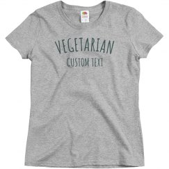 Custom Simple Vegetarian Design