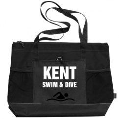 Gemline Select Zippered Tote Bag