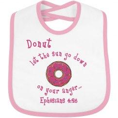 Donut bib Eph. 4:26