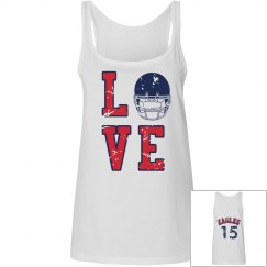 Love Football? Navy & Red