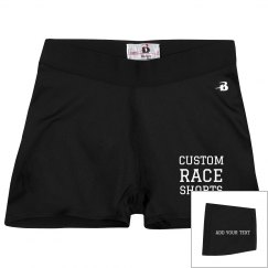 Custom Race And Running Shorts