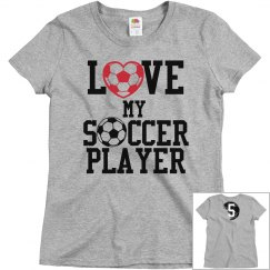 Love My Soccer Player