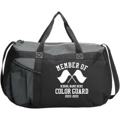 Color Guard School Bag With Custom Name and Years