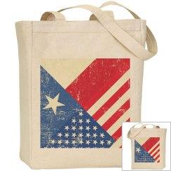 Flag Designer Tote Bag