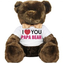 love you papa bear
