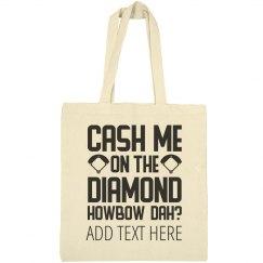 Custom Softball Howbow Dah