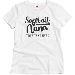 Custom Script Softball Nana