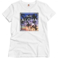 Aloha Hawaii Beach Sunset Shirt